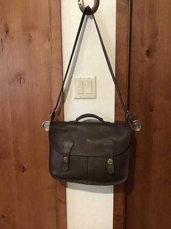 Photo Authentic COACH leather travelmessenger bag - $120 (Tanque VerdeHoughton)