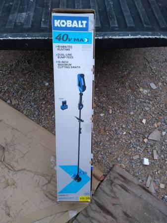Photo Brand new Kobalt 40-volt Max 13-in Straight Cordless String Trimmer - $80 (grant and I-10)