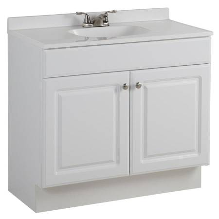 Brand New Project Source 36 5 In White Bathroom Vanity With Top 100 Grant And I 10 Materials For Sale Tucson Az Shoppok