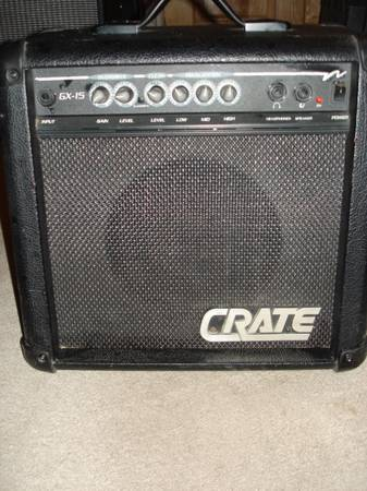 Photo Crate GX-15 Amp MINT Cond - $40 (Tucson)