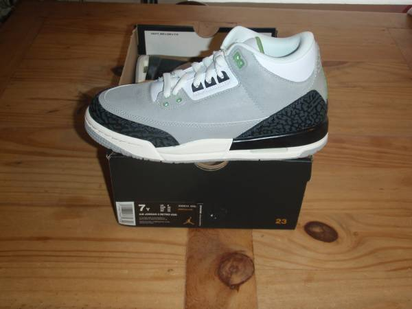 Photo DS Air Jordan Retro 339s Chlorophyll - Size 7 Youth 8.5 Women39s - $90 (Northeast)
