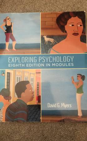Photo Exploring Psychology 8th edition David G. Myers - $20 (Tucson)