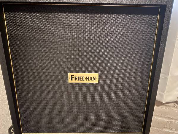 Photo Friedman BE 4 x 12quot Closed-back Cabinet - $750 (Tucson)