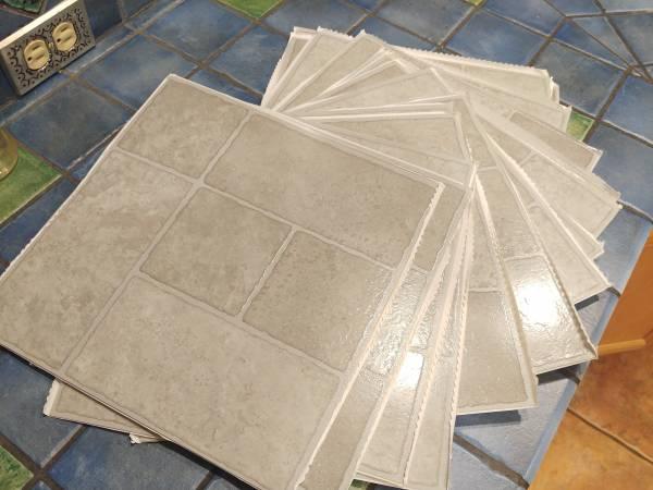 Photo Grey Self-Stick Vinyl Tile - $10