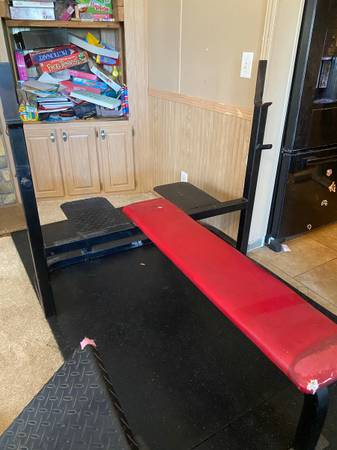 Photo Heavy Duty Olympic Bench - $250 (Tucson)