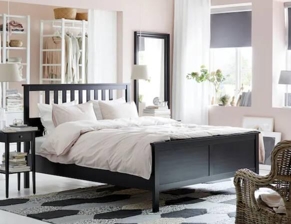 Ikea Hemnes Bed Frame quotEspressoquot - $175 (Eastside)