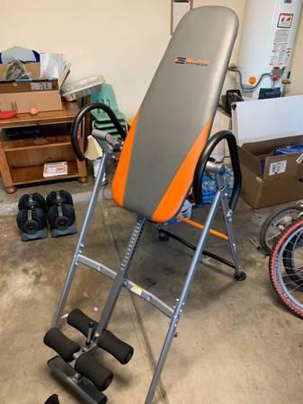 Photo Inversion Table Elite Fitness - $50 (NW Tucson)