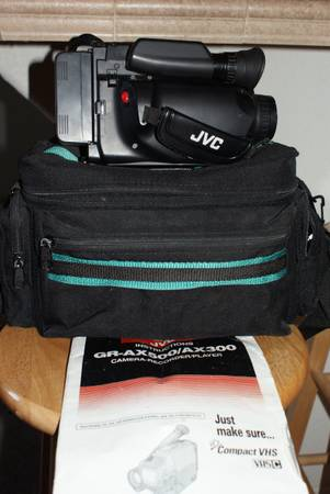 Photo JVC Compact Camera-recorderplayer - $40 (Three Points)