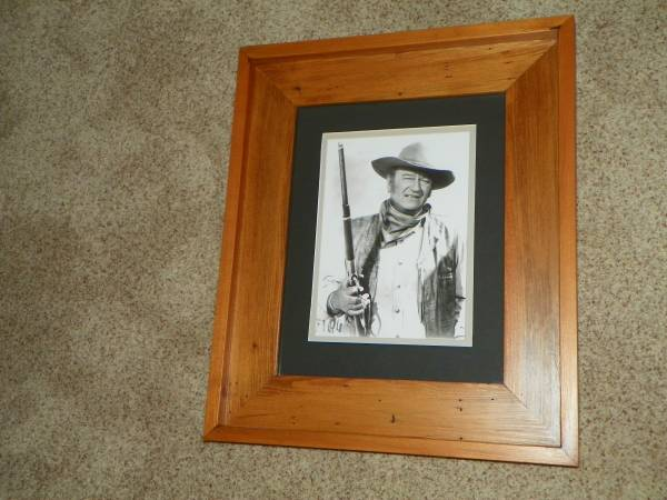 Photo John Wayne movie set prints framed - $69 (Rita Ranch, S.E. Tucson)