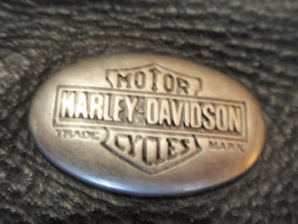 Photo Leather Jacket HARLEY-DAVIDSON His Her-Chaps-Vest-Pants-Helmet more (Green Valley)