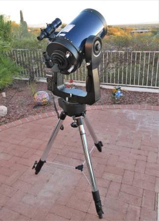 Photo Meade 10quot LX200 SCT Telescope - $1600 (tucson)