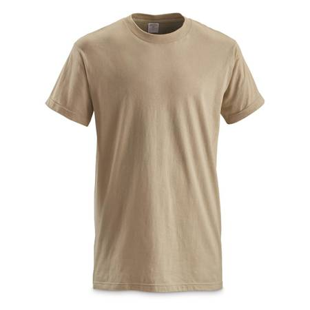 Photo Military T-Shirts - New  Used - Sand, Brown, Tan- Using stock photos (Tucson)