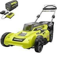 Photo NEW mower 40V lithium RYOBI 20 inch - $230 (tucson)