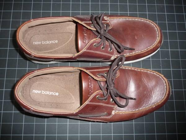 Photo New Balance Deck Shoe Brown Mens 12W - $15 (Tucson central)