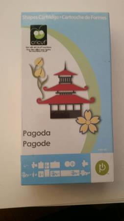 Photo Pagoda Cricut Cartridge - $20 (Tucson)