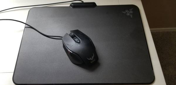 Photo Razor gaming mouse pad and mouse - $30 (Red Rock,Az)