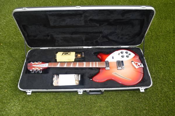 Photo Rickenbacker 36012 Fireglo 12-String Electric Guitar - $2600 (Tucson)