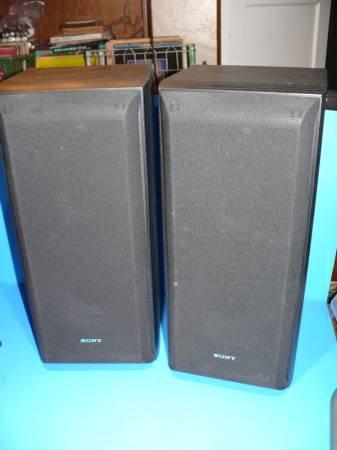Photo Sony SS-B3000 3-way Large 21quot Bookshelf Speaker AMAZING SOUND - $80 (Flowing Wells and Prince)