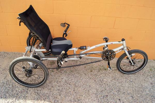 Photo Sun Recumbent 21 Speed TricycleManualBuild Sheet - $550 (OracleGrant)