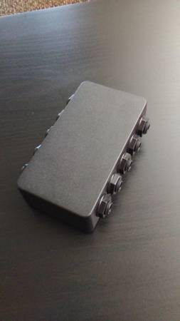 Photo The GigRig Cinco Cinco Pedal Patch Bay (Mint Condition) - $20 (Tucson)