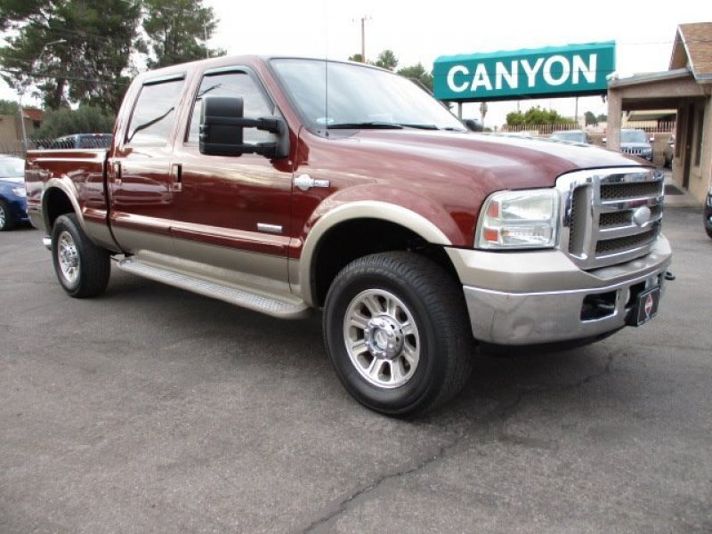Photo Used 2006 Ford F250 4x4 Crew Cab Super Duty for sale