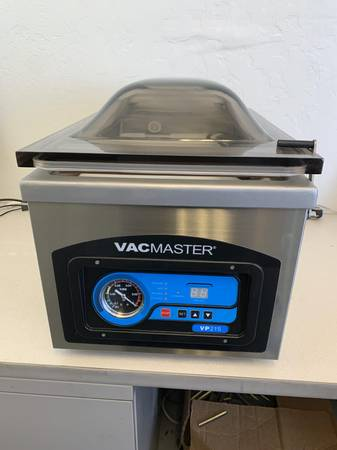 Photo VacMaster VP-215 Chamber - Vacuum Sealer, Like New - $600 (TucsonRita Ranch)