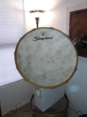 Photo Vintage Slingerland Bass Drum-PRICE REDUCED - $200 (Sahuarita)