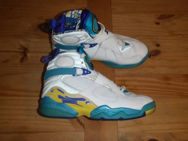 Photo Women39s Air Jordan Retro 8 Aqua - Size 8 (6.5 Youth) - $100 (Northeast)