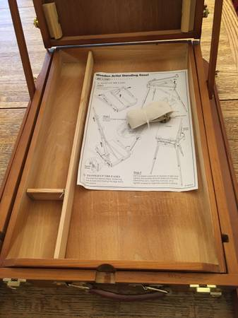 Photo Wooden Artist Standing Folding Easel - $40 (Orange GroveFirst Ave)