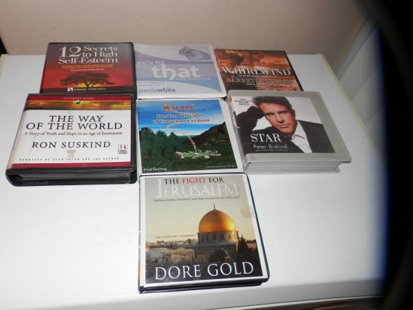 Photo lot of 7 audio books that will make you smarter - $15 (tucson)