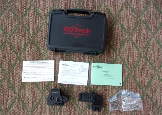 Photo Eotech XPS2-2 with G33 Magnifier with Original Case and Papers LNIB