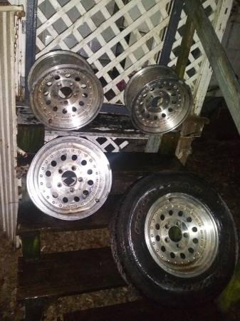 Photo 15 inch centerline wheels - $75
