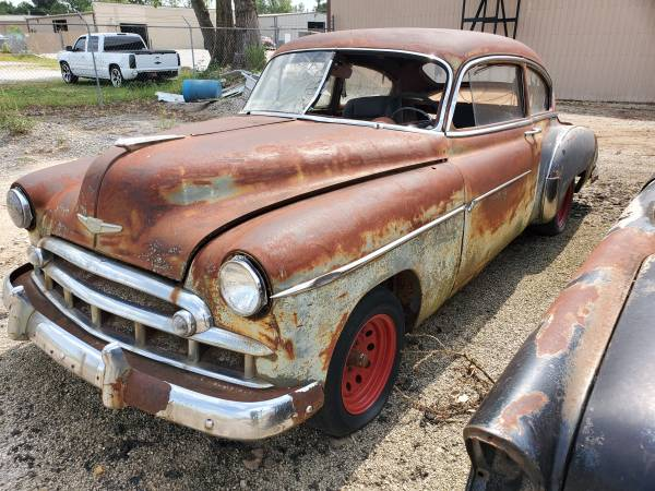 Photo 1949 chevy fleetline fastback - $3,000 (bixby)