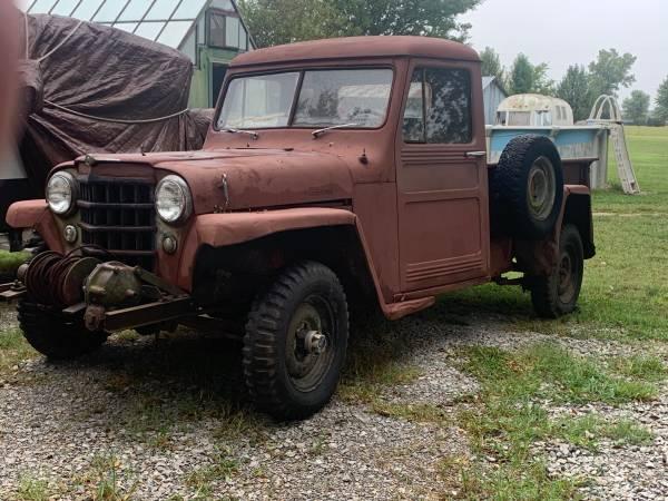Photo 1953 Willys Jeep pickup truck 4x4 - $3,200 (Bartlesville)