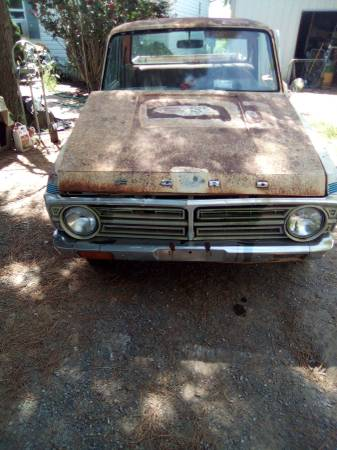 Photo 1972 Ford courier - $1,200 (Inola)