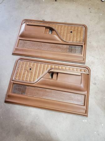 Photo 1973-79 Ford Ranger XLT Brown door panels - $300 (Bristow)