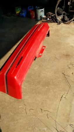 Photo 1982-1992 Camaro Rear Bumper Cover Red GM OEM Iroc-z Z28 RS - $125 (Tulsa)