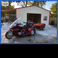 Photo 1995 Honda Goldwing 1500 Trike and trailer - $10500 (Catoosa)