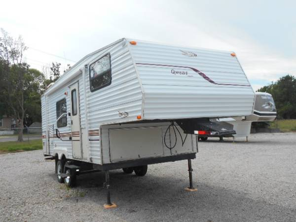 Photo 2000 JAYCO QWEST - 2539  1 SLIDE FIFTH WHEEL -- 12 TON TOW - $9,900 (Claremore)