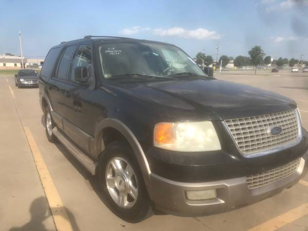 Photo 2003 Ford Expedition - $2000 (Tulsa)