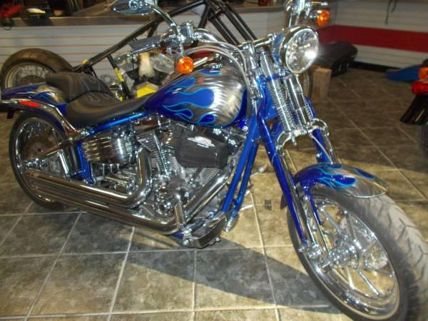 Photo 2009 Harley Davidson CVO Screamin Eagle Springer Softail - $16,000 (Krebs, OK)