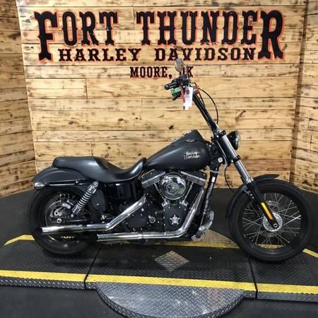 Photo 2013 Harley-Davidson Dyna Street Bob (324925) - $9,999 (Tulsa)