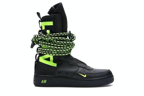 Photo 2018 Brand New Nike SF Air Force 1 High Black Volt men39s size 10 - $150 (STILLWATER)