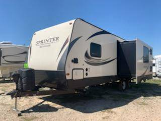 Photo 2018 Sprinter Travel Trailer Bumper Pull 1 Slide Save - $18,600 (11722 N Hwy 99 Seminole OK)
