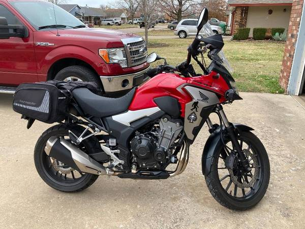 Photo 2019 Honda CB 500X - $5,500 (Sapulpa)