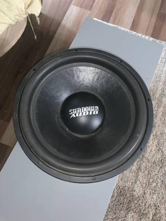 Photo 2 Sundown audio 15 inch subs - $400 (Tahlequah)