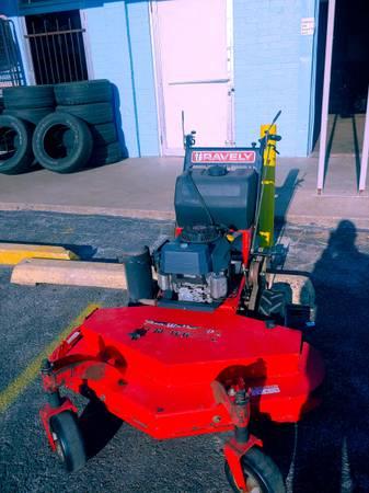 Photo 48quotGravely commercial walk behind mower 15hp Kawasaki motor - $1,300 (Jk tools)