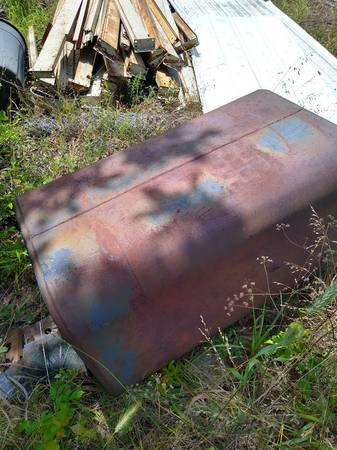 Photo 50 Gallon Metal Diesel Tank - $100 (Fort Gibson)