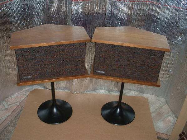 Photo Bose 901 Series II Speakers w Tulip Stands - $350 (offer)