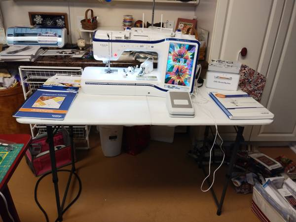 Photo Brother Sewing - Embroidery machine - $7500 (Omaha, Ar)